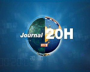 Le JT de 20 heures sur RTI1
