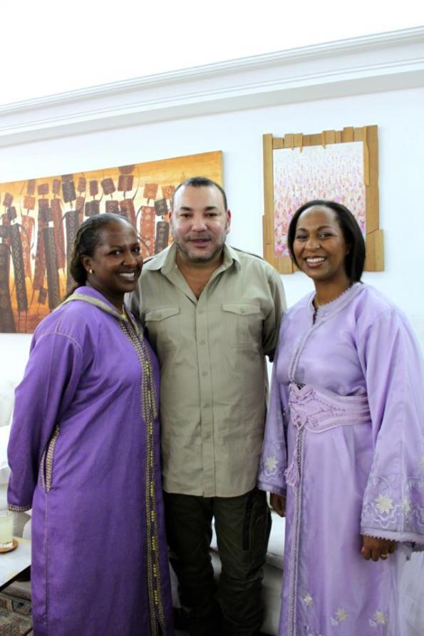 Visite  du Roi Mohamed 6 du Maroc en Côte d'Ivoire