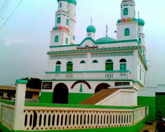 La grande mosquée de Bondoukou