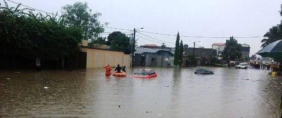 Abidjan a les pieds dans l'eau
