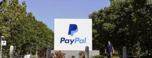 Un signe PayPal est vu à un immeuble de bureaux à San Jose, la Californie 28 mai 2014. Crédit: Reuters / Beck Diefenbach