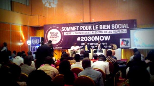 Abidjan: sommet pour le bien social ( Social Good Summit )