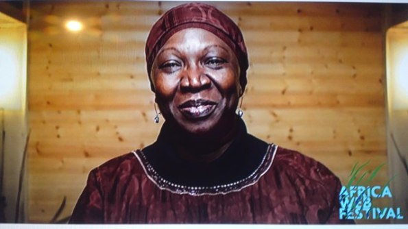 la fondatrice de Africa web festival Mariam Sy DIAWARRA