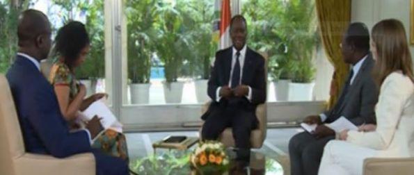 Chef de l'Etat ivoirien Alassane Ouattara 2015 abidjan