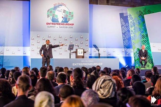 Jean Patrick Ehouman de retour au Global Entrepreneurship Summit  2015