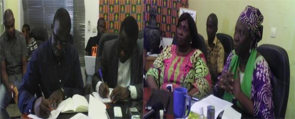 Rencontre avec les responsables d'AfricaWebFestival