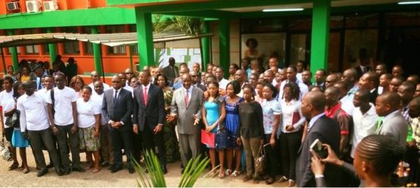 Au lancement du site de l Agence Emploi jeune