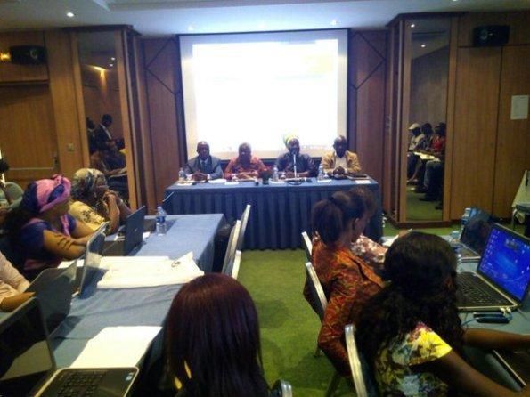 1er-conference-presse-veille-electorale-peace-ci-wanep hotel tiama plateau