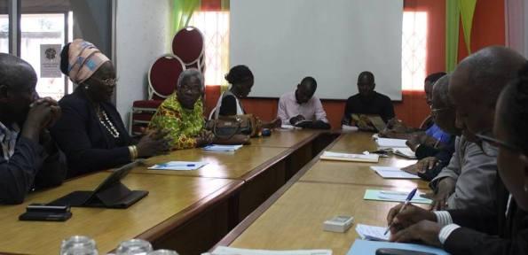 Rencontre PEACE CI - CNP pour des élections apaisées