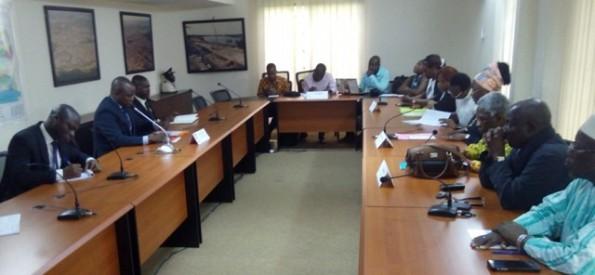 Rencontre PEACE-CI - Ministère de l'intérieur pour des élections apaisées (Crédit photo: D. COULIBALY)