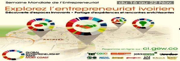 GEW-célébration de la semaine mondiale de l'Entrepreneuriat en Côte d'Ivoire