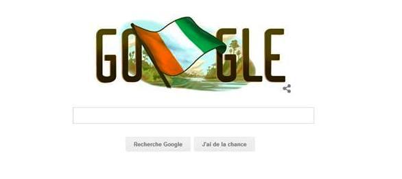 Quand Google se trompe de la date de l'indépendance de la Côte d'Ivoire