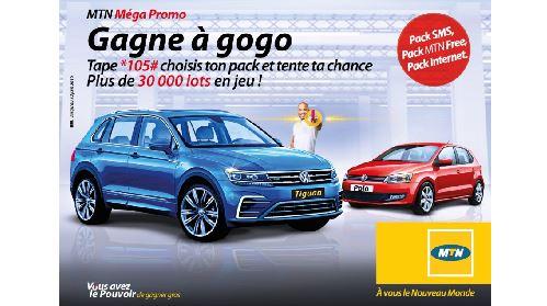 MTN Côte d'Ivoire lance une Méga Promo qui récompensera plus de 30 Clients