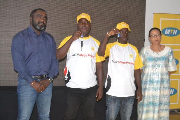Deuxvoitures offertes aux deux gagnants de la Méga Promo MTN Côte d'Ivoire